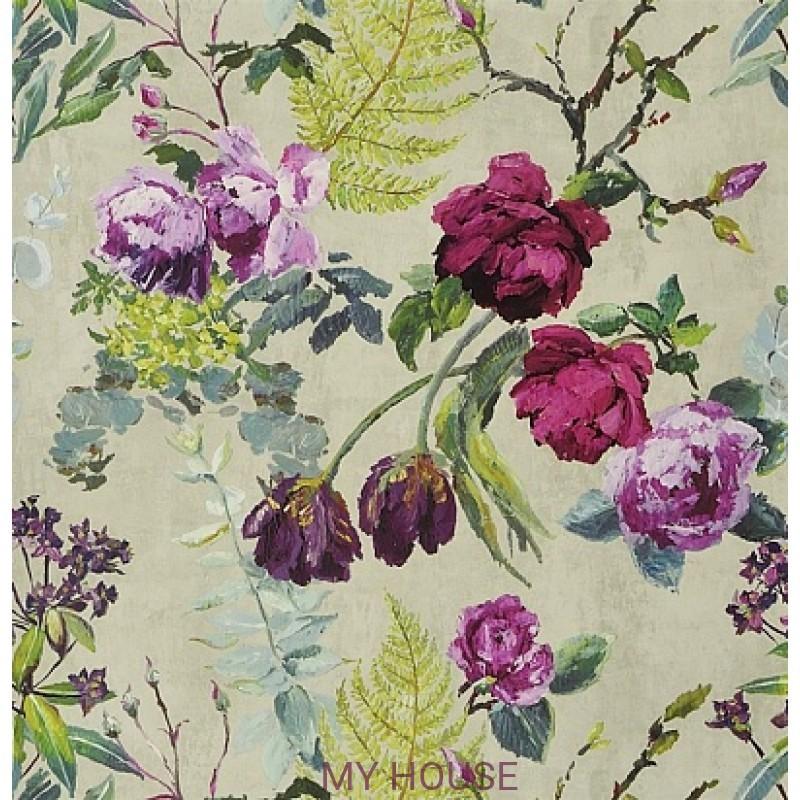 Обои Caprifoglio wallpapers PDG678/03 Tulipani Linen Designers G