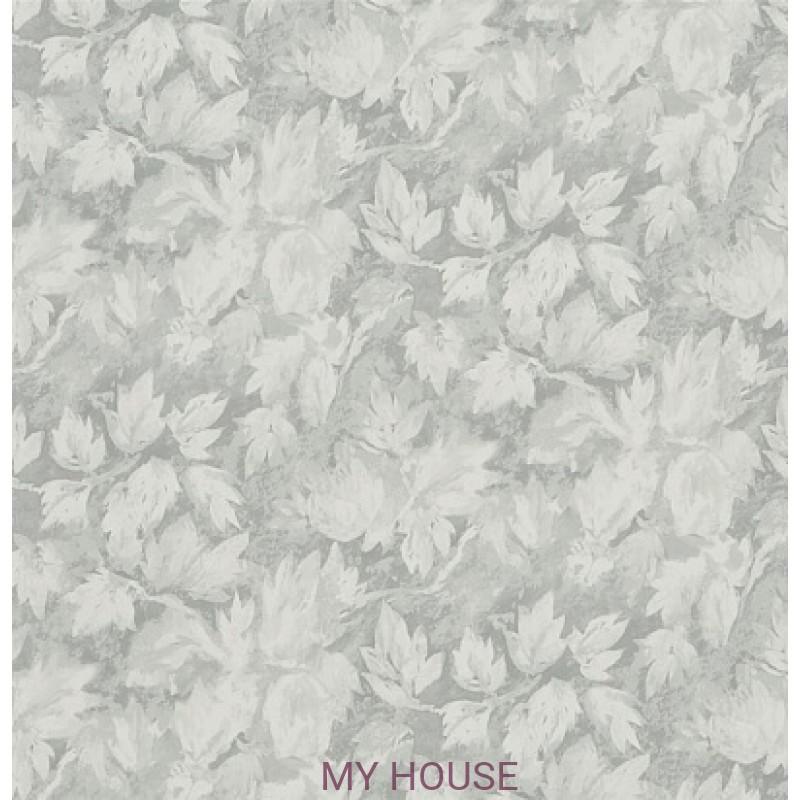 Обои Caprifoglio wallpapers PDG679/03 Fresco Leaf Silver Designe