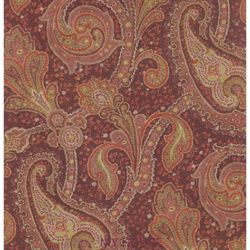 Обои Casimir Wallpapers 07161/02 Cornelius Chocolate Colefax and