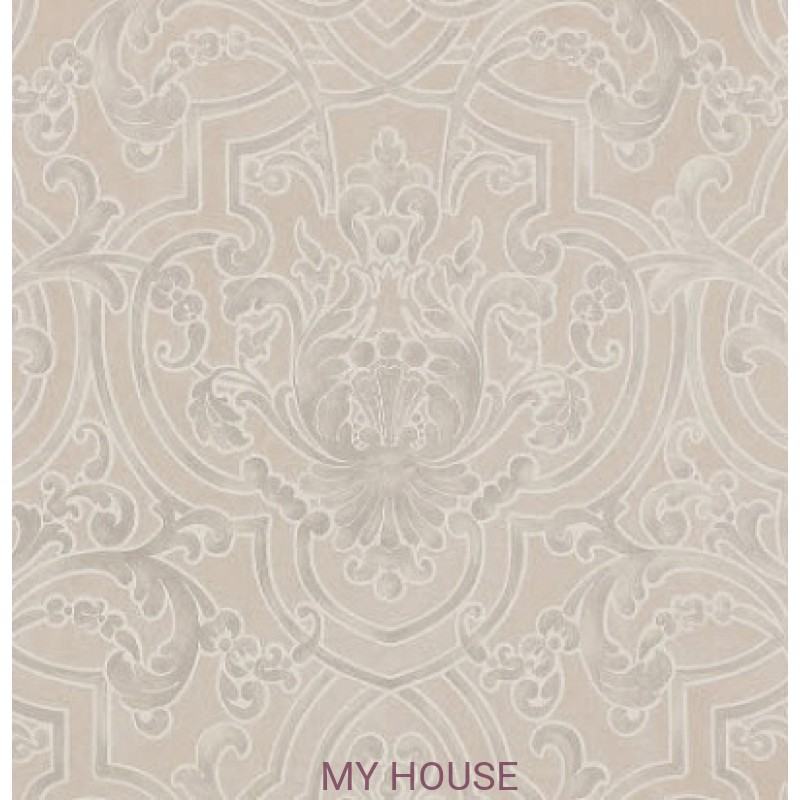 Обои Casimir Wallpapers 07163/05 Fretwork Ivory Colefax and Fowl