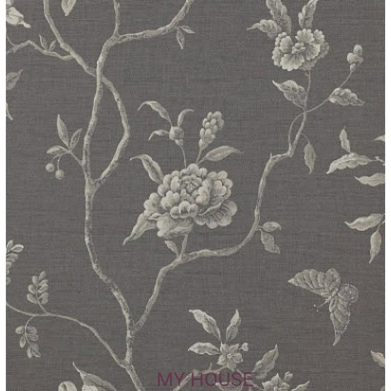 Обои Casimir Wallpapers 07165/04 Swedish tree Charcoal Colefax a