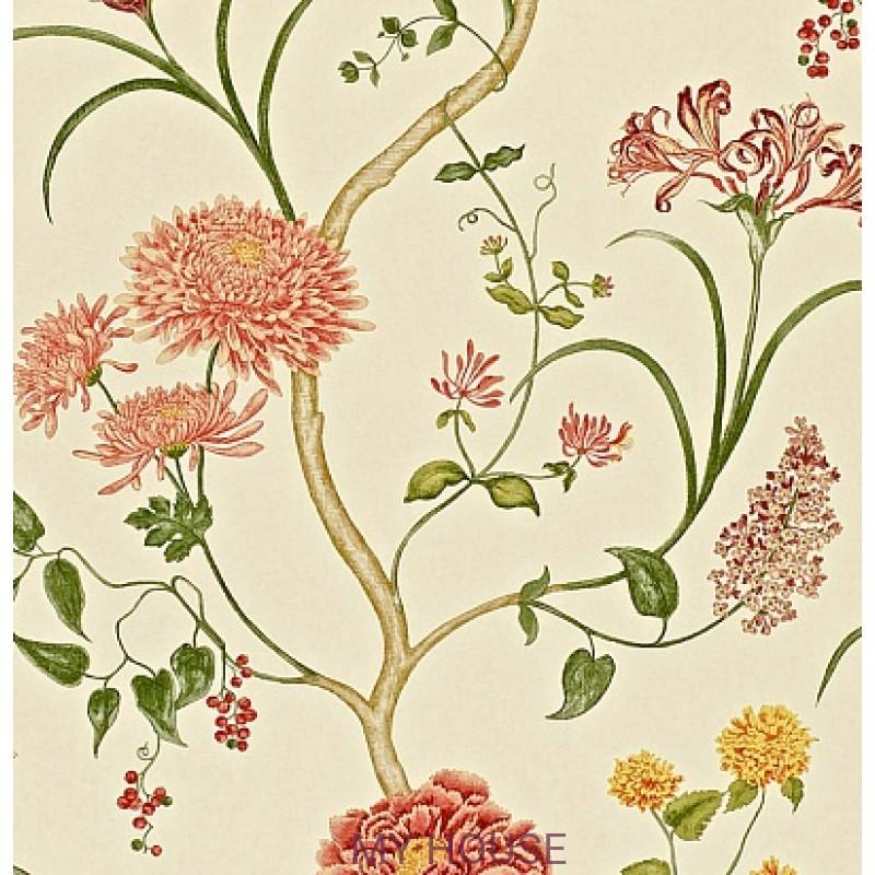 Обои Painters garden DAPGST102 Summer Tree Sanderson