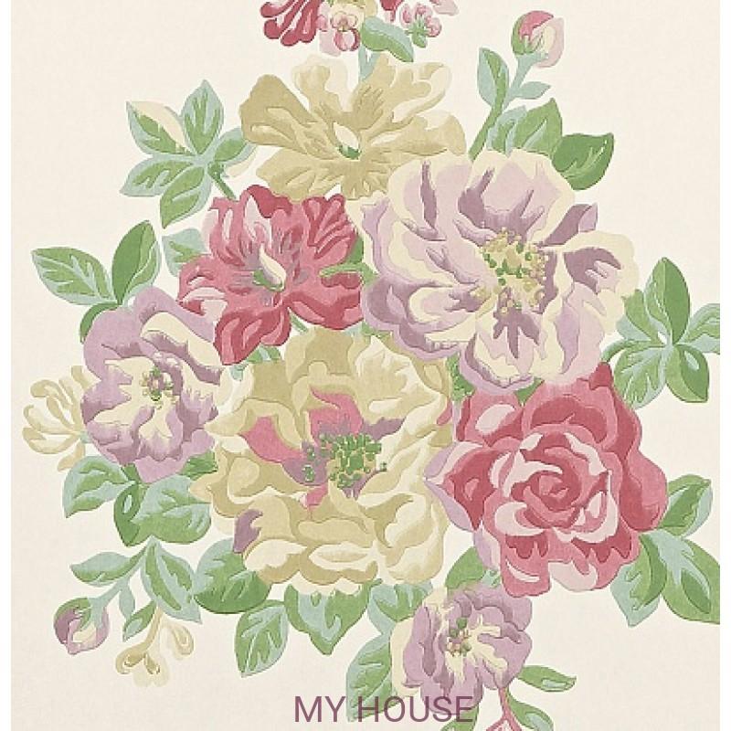 Обои Caverley DCAVMI101 Midsummer Rose Sanderson