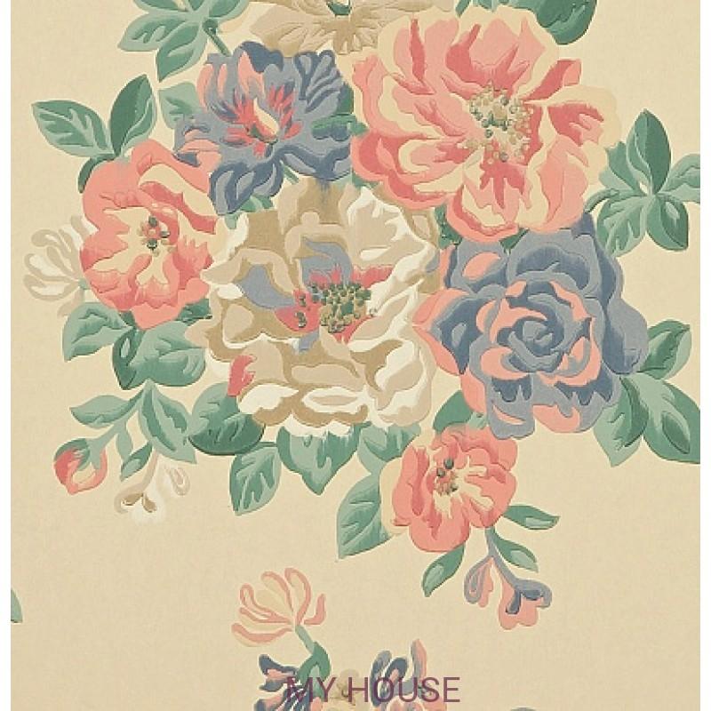 Обои Caverley DCAVMI102 Midsummer Rose Sanderson