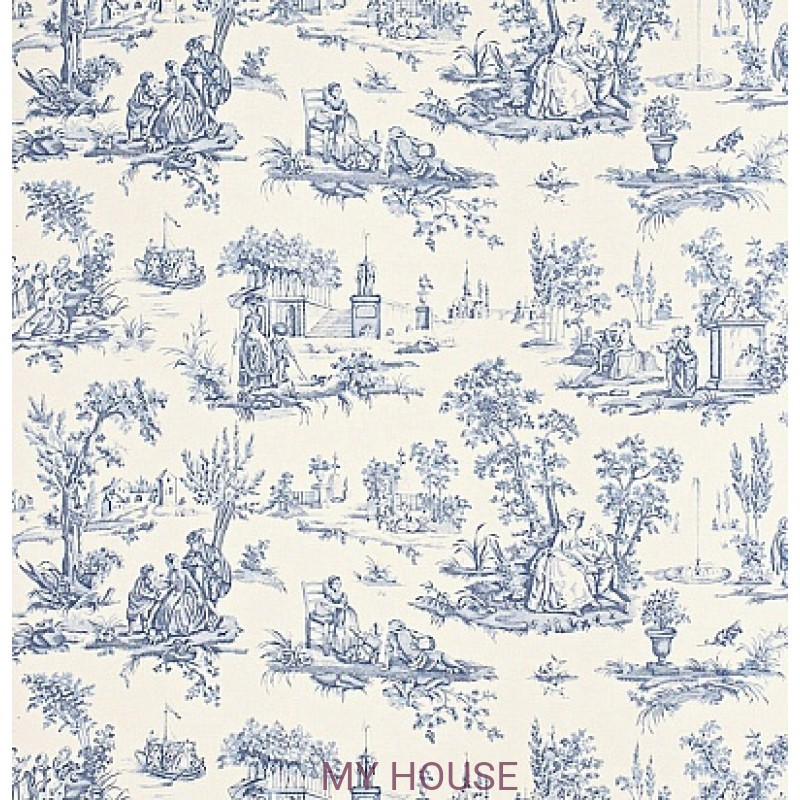 Обои Toile Collection DEGTCT101 Courting Toile Sanderson
