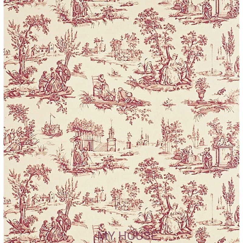 Обои Toile Collection DEGTCT102 Courting Toile Sanderson