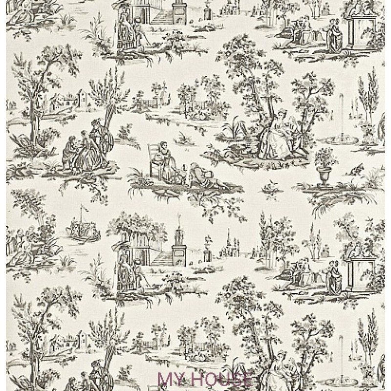 Обои Toile Collection DEGTCT104 Courting Toile Sanderson