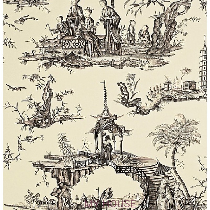 Обои Toile Collection DEGTSH103 Stairway To Heaven Sanderson