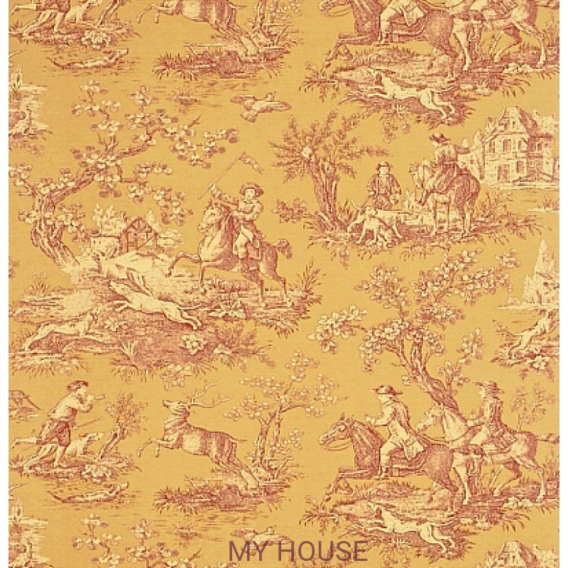 Обои Toile Collection DEGTST101 Stag Hunting Sanderson