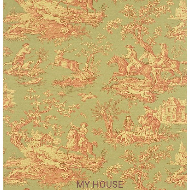 Обои Toile Collection DEGTST103 Stag Hunting Sanderson