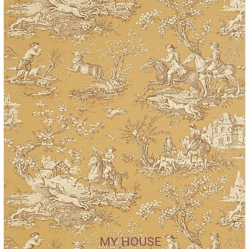 Обои Toile Collection DEGTST104 Stag Hunting Sanderson