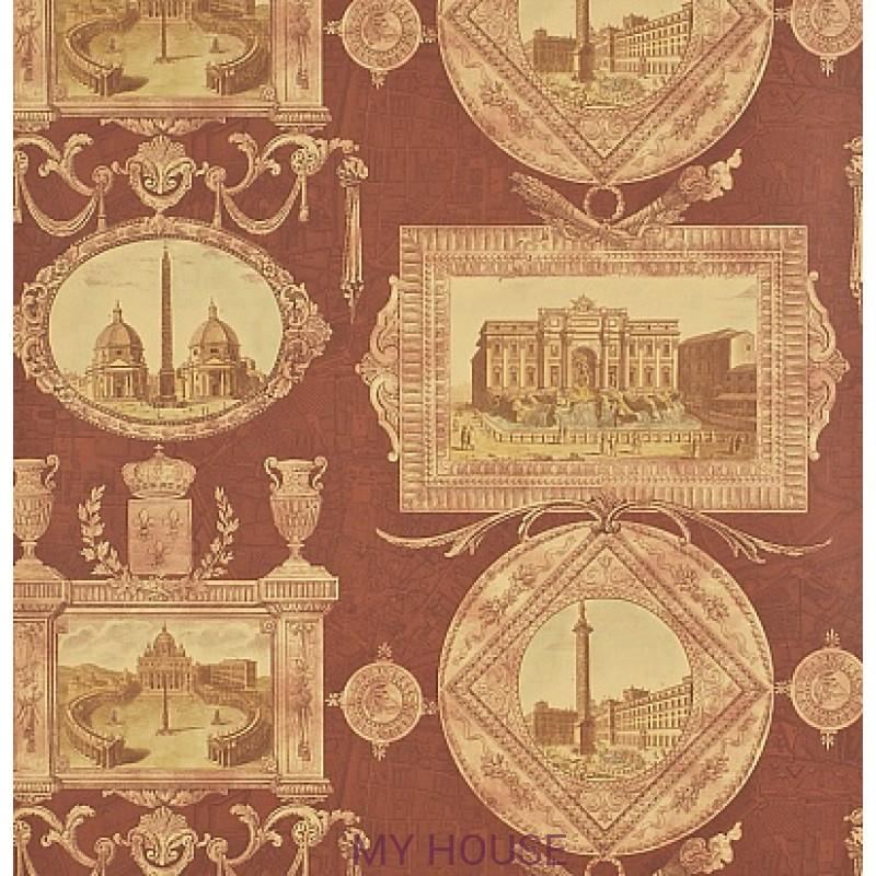 Обои Toile Collection DEGTVI101 Vues D'Italie Sanderson