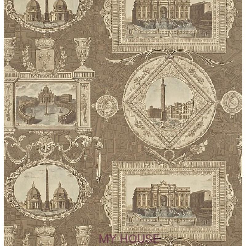 Обои Toile Collection DEGTVI102 Vues D'Italie Sanderson