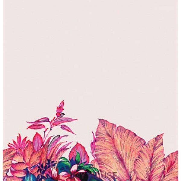 панно с тропическими цветами DGALP701