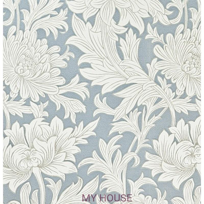 Обои Morris Volume V DMOWCH 101 Chrysanthemum Toile Morris&C