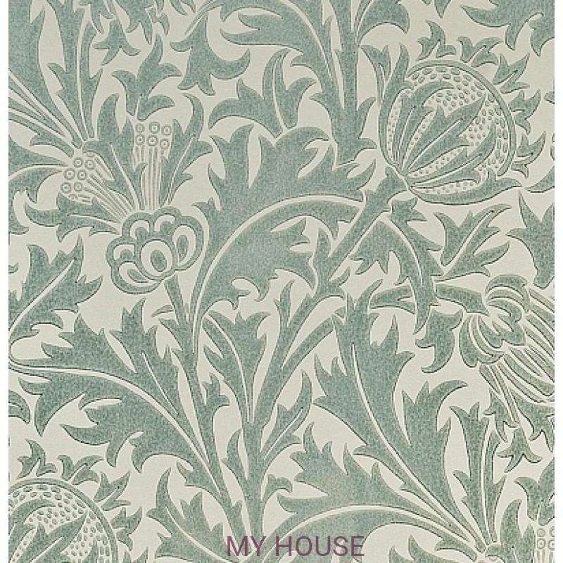 Обои Morris Volume V DMOWTH 105 Thistle Morris&Co
