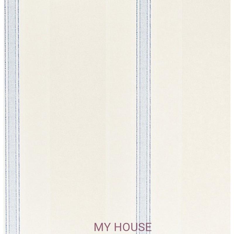 Обои Pemberley DPEMNP101  Netherfield Paper Ivory/China Blue San