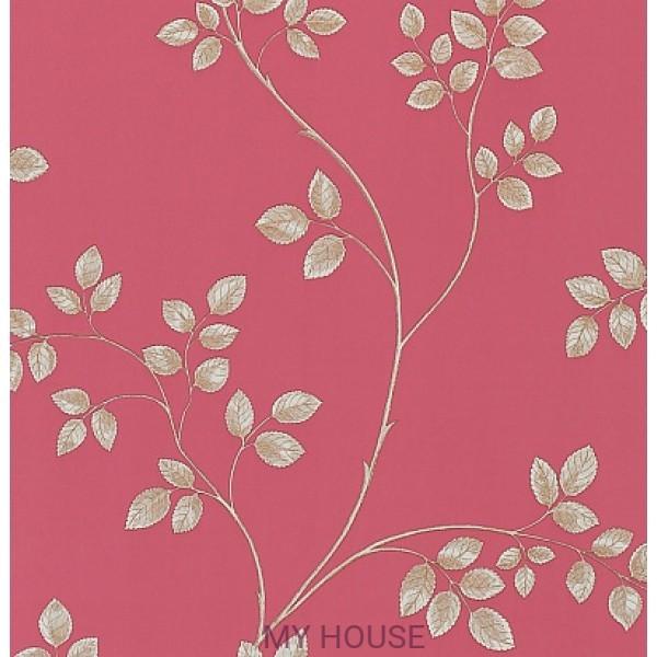 ярко-розовые бумажные обои DPFWFR103
