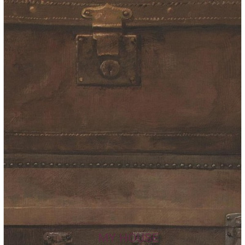 Обои Engineer Luggage LU02 Leather Andrew Martin