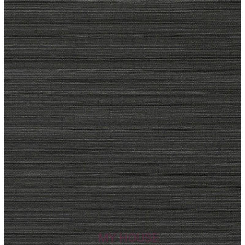 Обои Faux Resource T75152 Taluk Текстиль Black THIBAUT