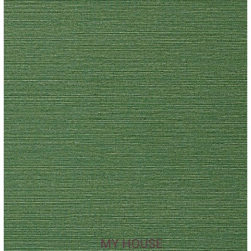 Обои Faux Resource T75154 Taluk Текстиль Green THIBAUT