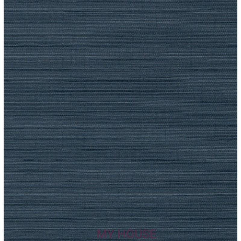 Обои Faux Resource T75157 Taluk Текстиль Navy THIBAUT