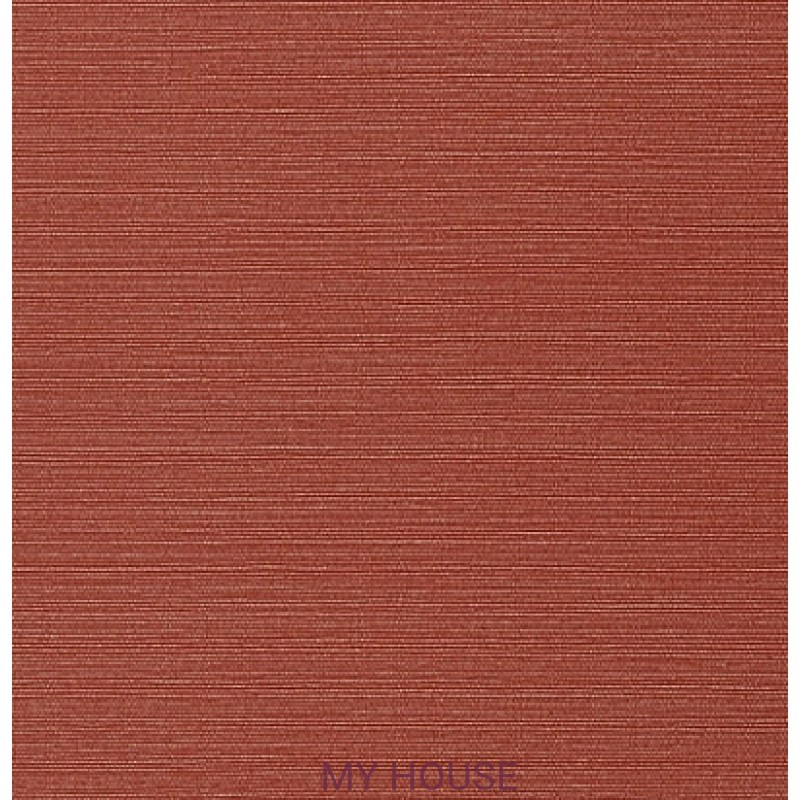 Обои Faux Resource T75160 Taluk Текстиль Red THIBAUT