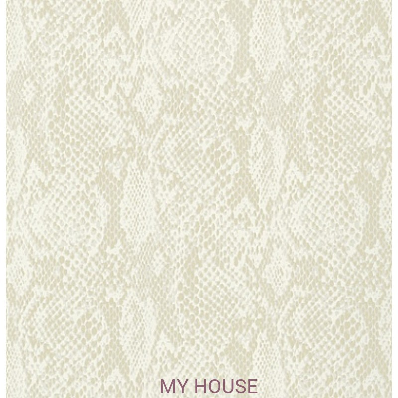 Обои Faux Resource T75166 Boa Off White THIBAUT
