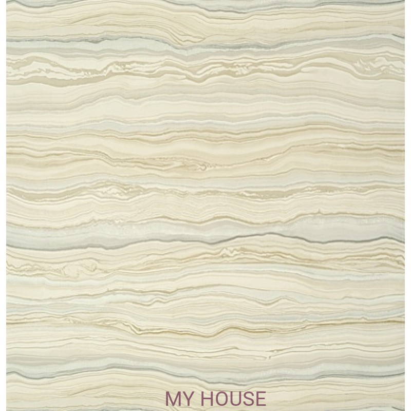 Обои Faux Resource T75173 Treviso Marble Beige THIBAUT