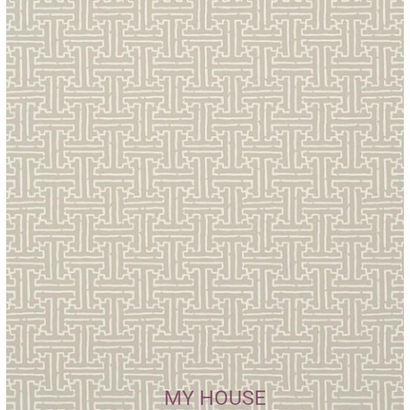 Обои Graphic Resource T35165 Taza Linen THIBAUT