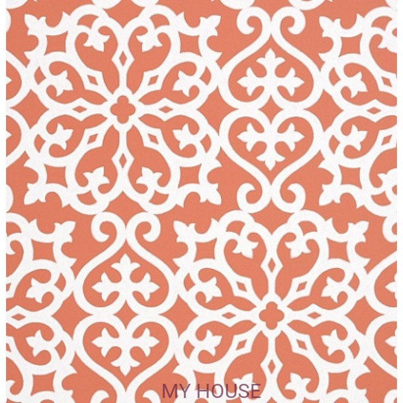 Обои Graphic Resource T35179 Allison Persimmon THIBAUT