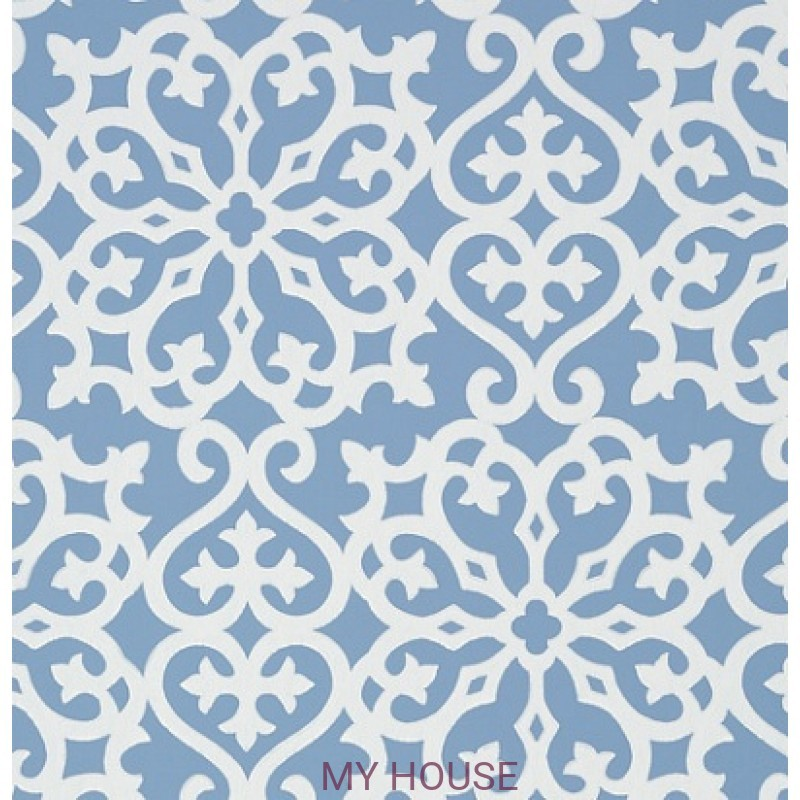 Обои Graphic Resource T35181 Allison Blue THIBAUT