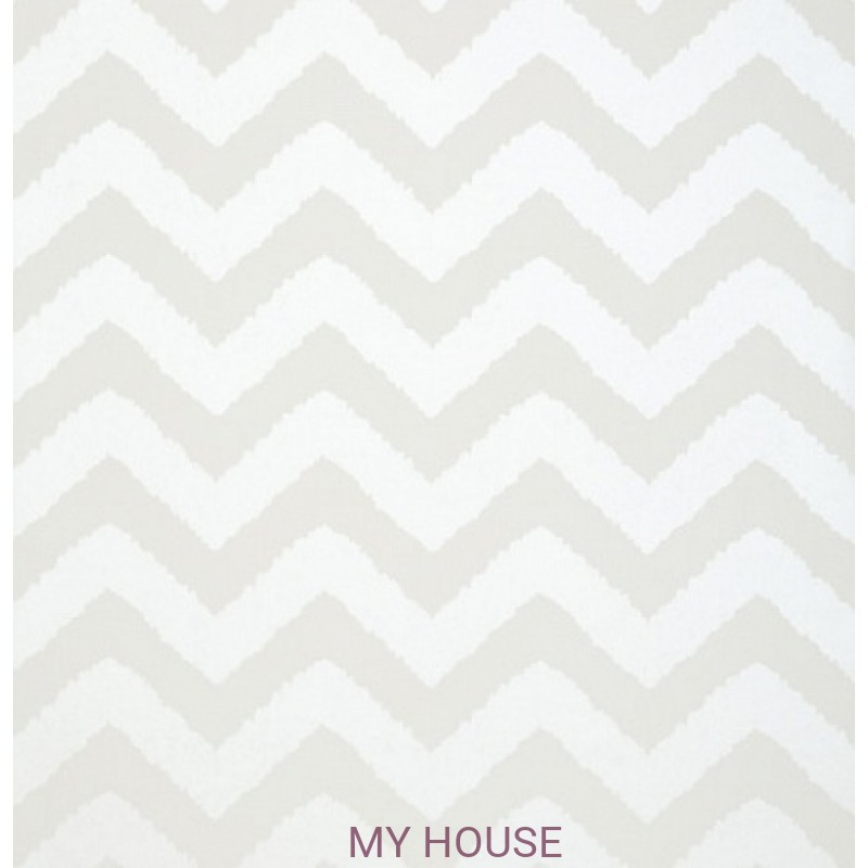Обои Graphic Resource T35183 Widenor Chevron Pearl THIBAUT