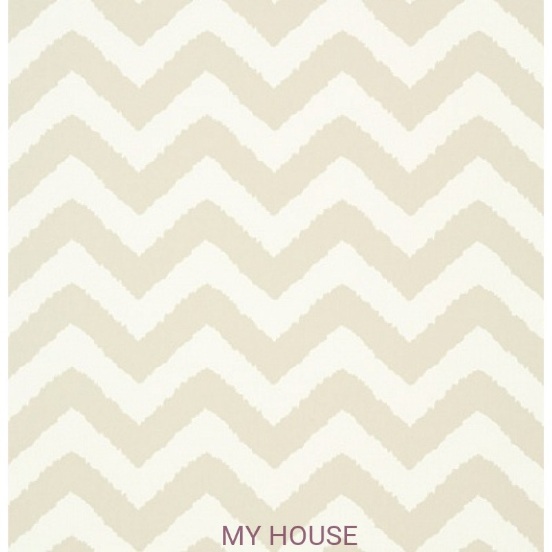Обои Graphic Resource T35184 Widenor Chevron Beige THIBAUT