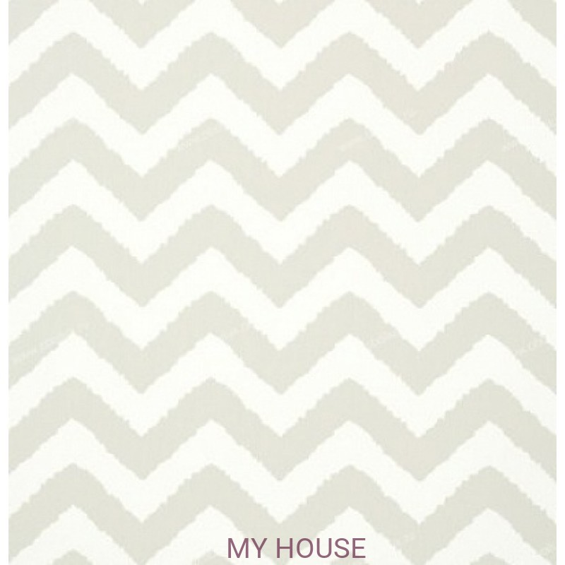 Обои Graphic Resource T35185 Widenor Chevron Grey THIBAUT