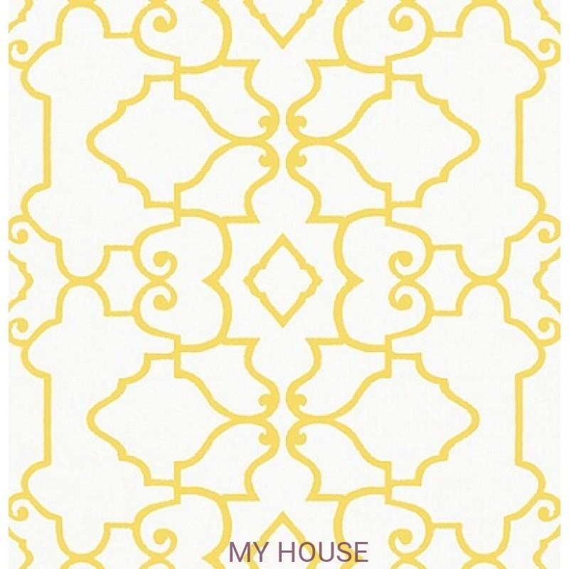 Обои Imperial Garden T14254 Ogden Yellow THIBAUT