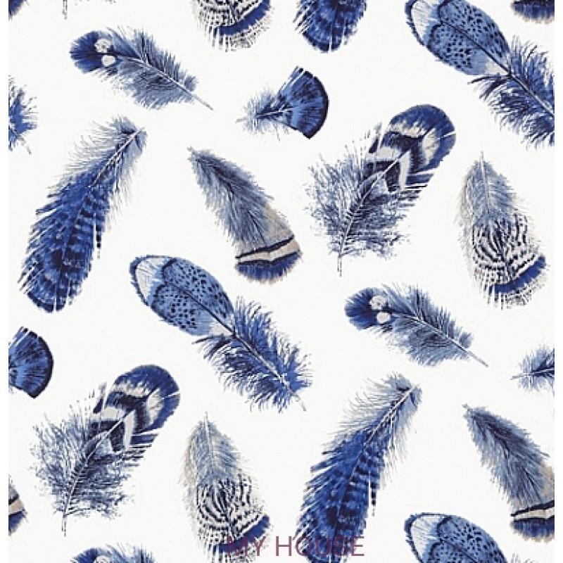 Обои Imperial Garden T14262 Birding Blue THIBAUT