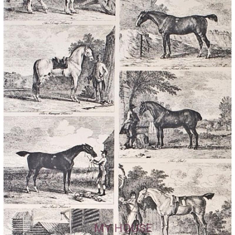 Обои Classic Wallpaper LW95106 Lewis&Wood