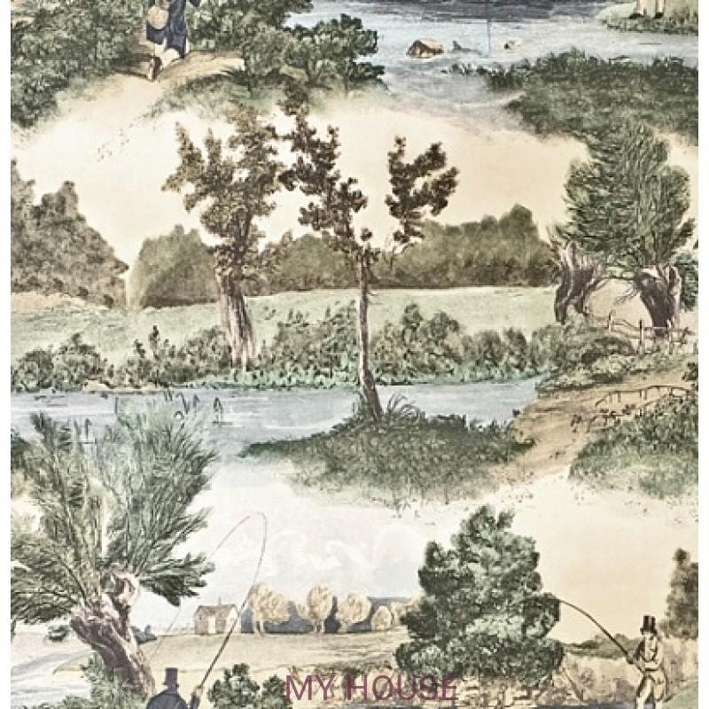 Обои Classic Wallpaper LW97 Lewis&Wood