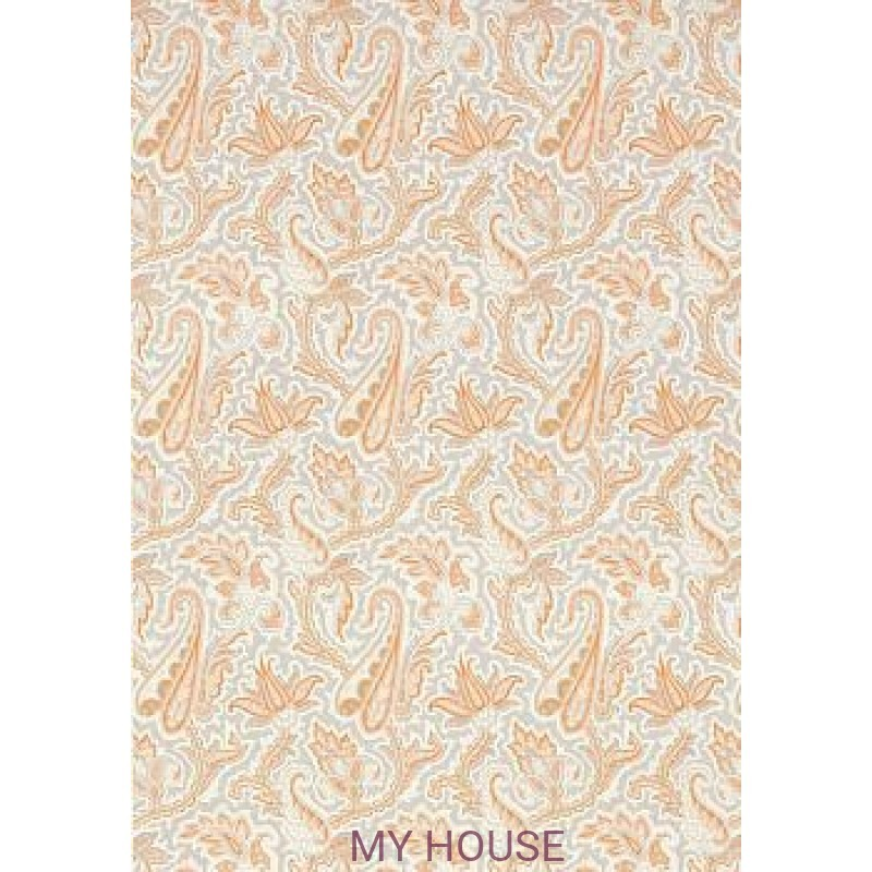 Обои Menswear Resource T1016 Tangerine and Grey THIBAUT