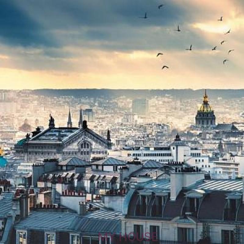 Обои Metaphore Toit de Paris MTE65679099 Caselio