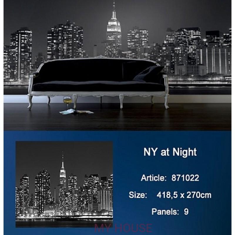 Обои Metropolis 871022 NY at Night KT Exclusive