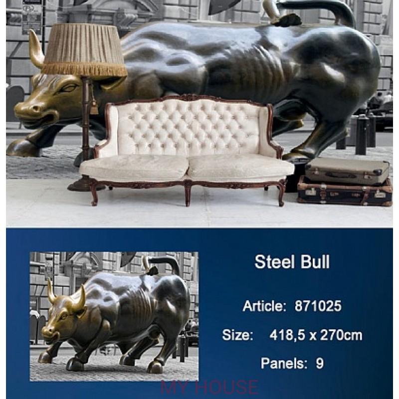 Обои Metropolis 871025 Steel Bull KT Exclusive