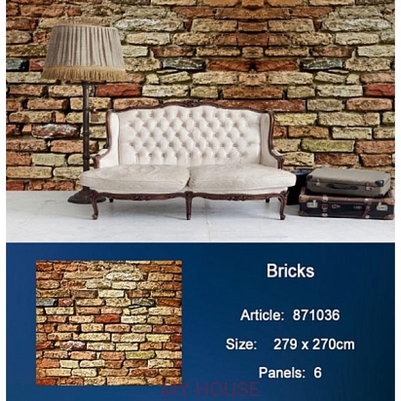 Обои Metropolis 871036 Bricks KT Exclusive