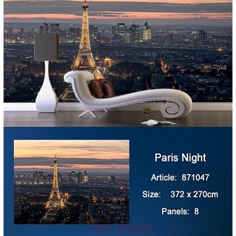Обои Metropolis 871047 Paris Night KT Exclusive