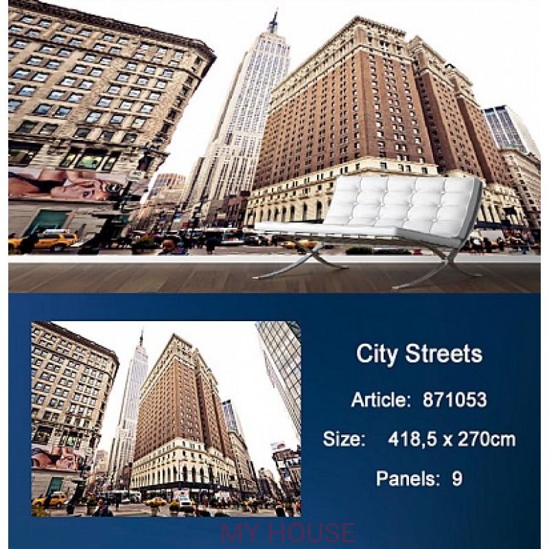Обои Metropolis 871053 City Streets KT Exclusive