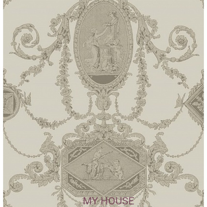 Обои Monticello PV 00204 Toile Bronze Architector