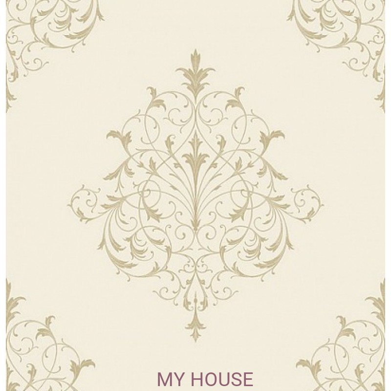 Обои Monticello PV 00205 Filigree Gold Architector