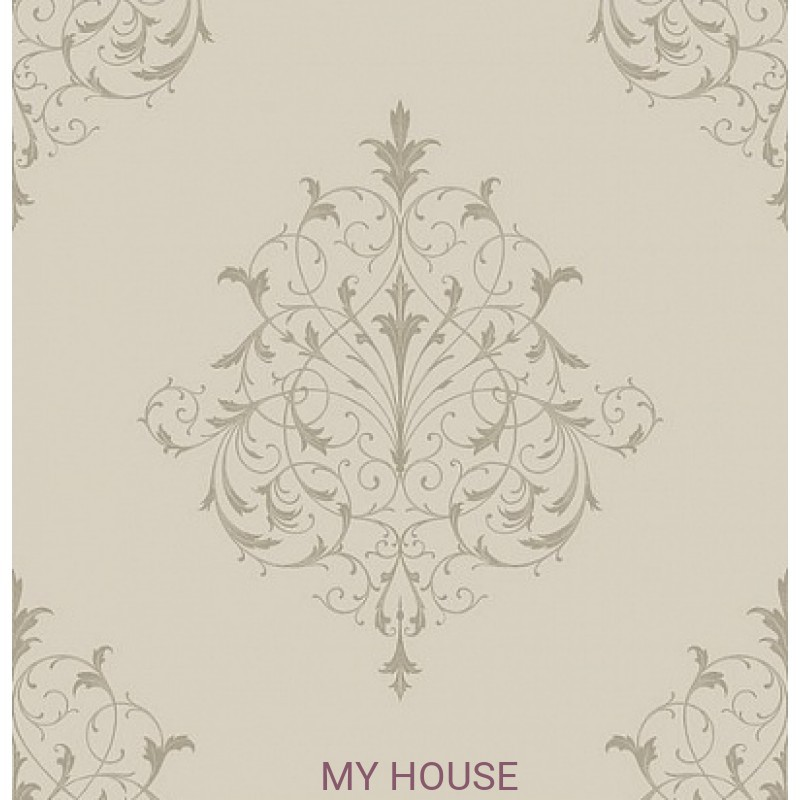 Обои Monticello PV 00207 Filigree Taupe Architector