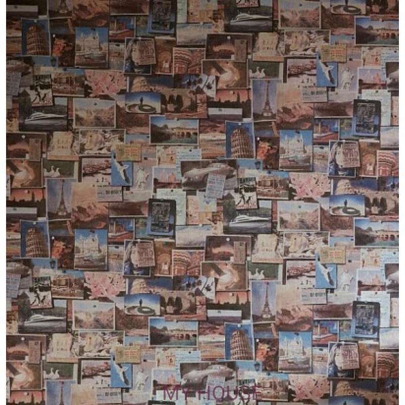 Обои Museum Pinboard Multi Andrew Martin